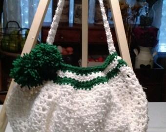 Crocheted Handbag, Unique Gift, Handmade