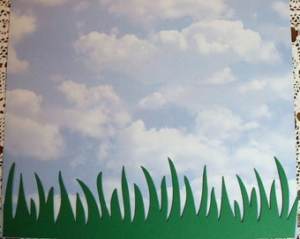 Quickutz Grass Border Die Cuts - Bazzill