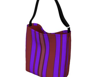 Cross Body Bag - Ultra Violet Pantone - Bookbag - Messenger Bag Women - Everyday Womens Bag - Waist Bag - Bum Bag - Tote Bag for Women