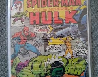 Marvel Comics Marvel Team up with spiderman and the Hulk #54