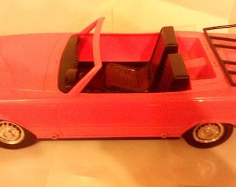 Vintage Meritus Industries 1983 Barbie Doll Convertible Car