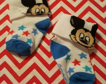 Mickey Mouse Stars Footies