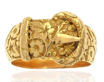 Fabulous Antique Buckle ring