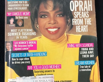 1990 Ladies Home Journal- Oprah