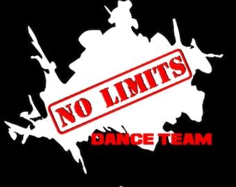 No Limits Dance Team Regular Print