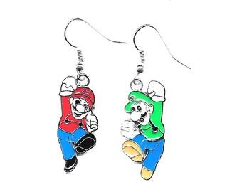 Nintendo Super Mario & Luigi Hook Earrings
