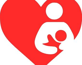 Breastfeeding Awareness Vinyl Decal