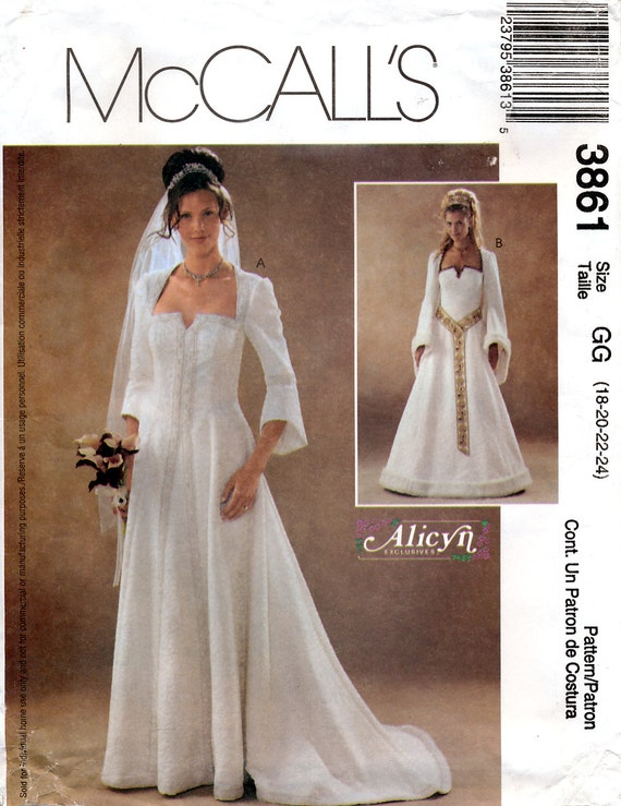 McCall\'s 3861 Sewing Pattern by Alicyn Exclusives for Misses ...
