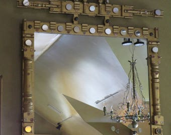 MANTELPIECE MIRROR, by Viktor Tinkl.