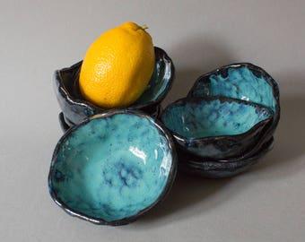 Geode pinch bowl