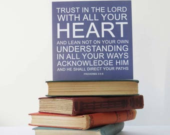BC03 | Trust In The Lord Card