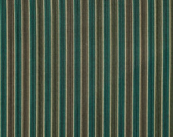 Denyse Schmidt Chicopee Shirt Stripe in Green - One Yard