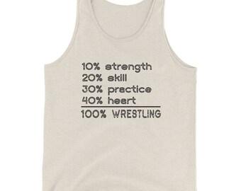 Wrestling Math Tank Top