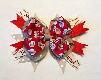 Double stacked baseball bow