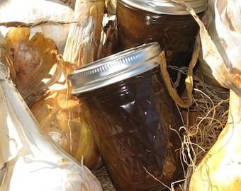 Caramelized Onion Garlic Balsamic Jam 8 oz Jar