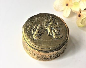 Vintage jewelry box Etsy
