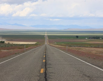 Long Road Home - Road Trip - Highway - Oregon - Fine Art Photography - Home Decor - Wall Art - Summer - Landscape - Renfro Photography