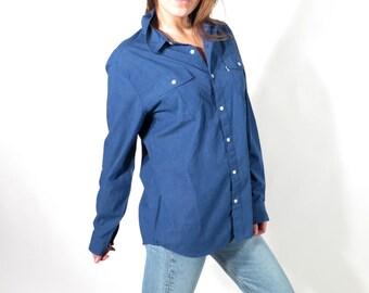 Men's Levis Modern Blue Shirt M