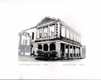 The Guildhall, Windsor - a limited edition print