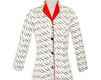 Odette Barsa Robe, Art Deco Evening Coat, Bonwit Teller, Ultimate Hollywood Glamour, Rare,   Late 1930s