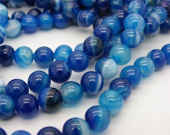 48 to 50 agate Blue has 8 mm