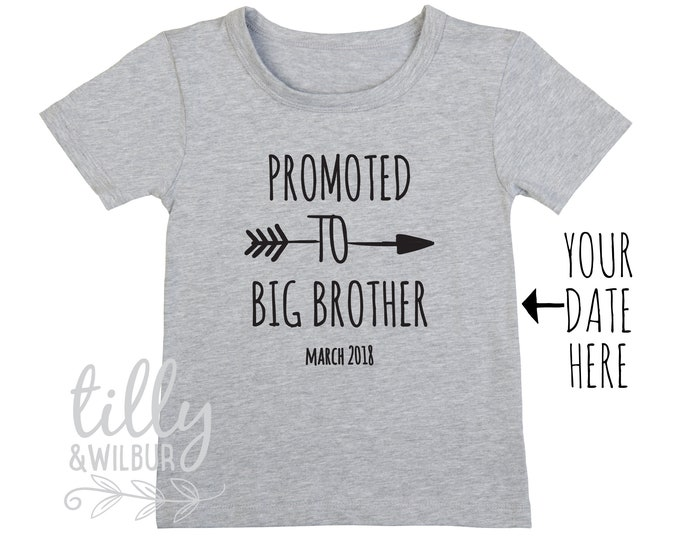Promoted To Big Brother T-Shirt For Boys