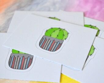 Mini Cactus Sticker