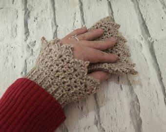 PDF pattern - pdf crochet pattern -crochet cuffs pattern - crochet mitts pattern - crochet wrist warmers pattern -crochet gloves