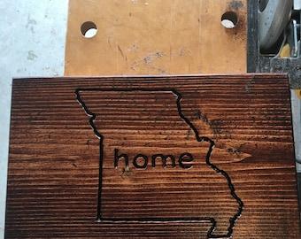 Missouri Home Sign