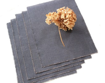 Mother's Day Modern Rustic Burlap Placemats - Timeless Gifts - Natural Living - Indoor/Outdoor Dining & Entertainment