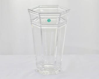 Tiffany & Co Windham Crystal Flower Vase Charles Lewis Inspiration