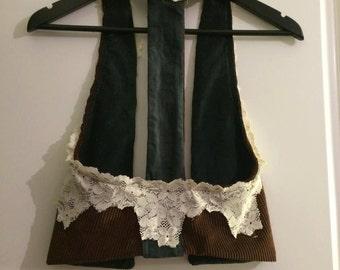 Spansh Gypsy Vest, soulspirit, Gypsy, Hippie, hippie vest, festivalclothes, handmade, soulspiritstore, bohemian, boho, vest,
