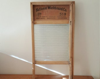 Antique National Washboard #510