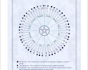 Moon Phase Lunar Calendar 2018