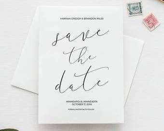 DIY Save The Date Template Printable Green Wedding Instant - Diy save the dates templates
