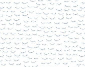 40 Winks on White from Dear Stella Design's Luna Collection