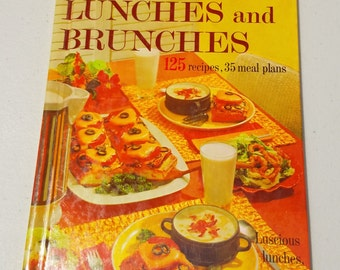 vintage Better Homes & Gardens Lunches and Brunches cook book from 1963 ** 125 recipes