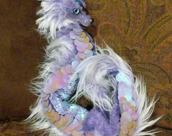Amethyst The Scaled Asian Dragon Posable Art Doll