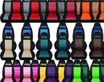 Jeep Car Seat Covers....Any Middle Colour Insert....All  makes and Models of Jeep..
