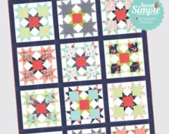 Star Bright - Quilt Pattern from Thimble Blossoms