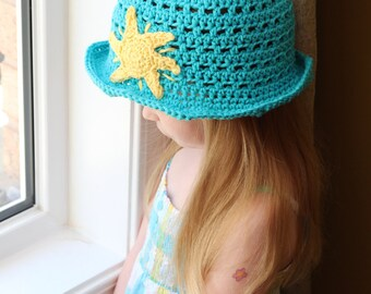 Sunny Bucket Hat - PDF Crochet Pattern -INSTANT DOWNLOAD