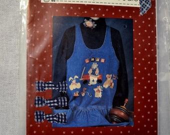 Modèle jouet Applique l'ensemble du pays Caboodle mode vêtements couture BRICOLAGE PanchosPorch