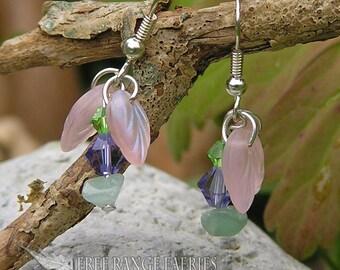 Fairy Flower Gemstone Earrings