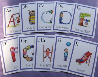Learn Your ALPHABET CARDS