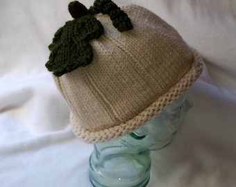 White Pumpkin, adult pumpkin hat , costume hat, photo prop , fall hat