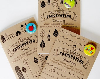 Boys & Girls Activity Book - Find Something Fascinating Nature Notebooks