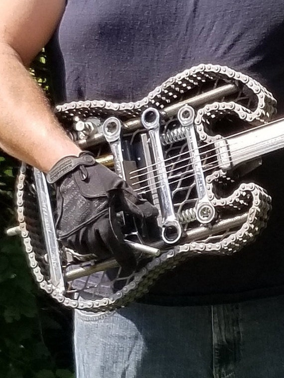 Scrap Metal Electric Style Guitar