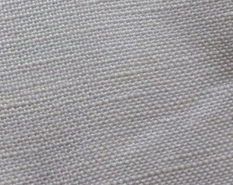 Bamboo Flax Linen - White