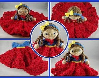 JJ Superhero Lovey Crochet Pattern