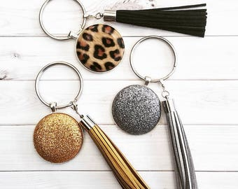 40mm Delux Button keyrings